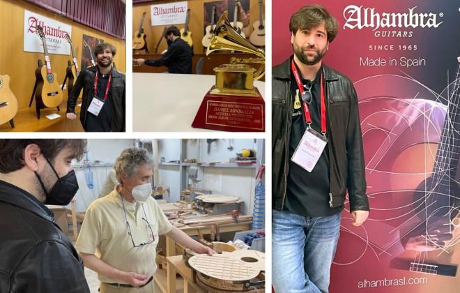 Daniel Minimalia visits Alhambra Guitars