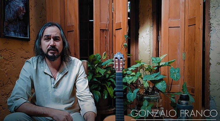 With Gonzalo Franco - Portraits in Times of Pandemic
