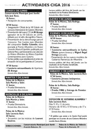 Agenda AIGC 2016