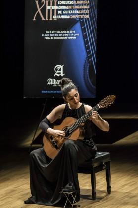 Andrea Gónzalez Caballero won Alhambra Competition