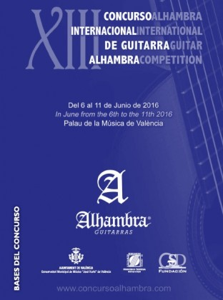 Rules of the XIIIth Alhambra Competition