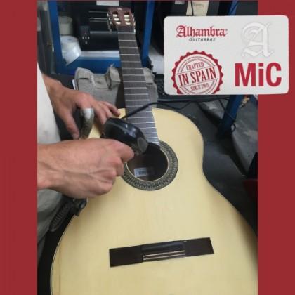 Sistema de trazabilidad en guitarras Alhambra