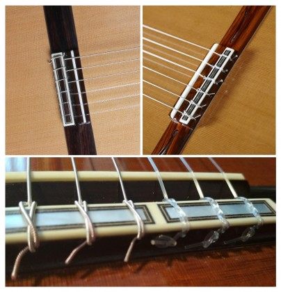 How do I put the strings on my guitar?