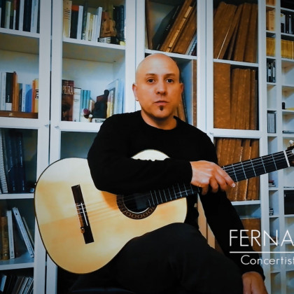 With Fernando Espí - Portraits in Times of Pandemic