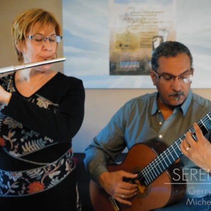 With Serenade Dúo - Portraits in Times of Pandemic