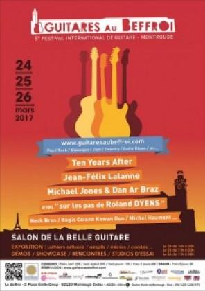 Alhambra Guitars in the Salon de la Belle Guitare