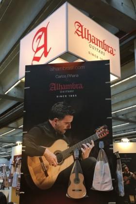 Alhambra Guitars will present new models at the FAIR OF FRANKFURT 2017