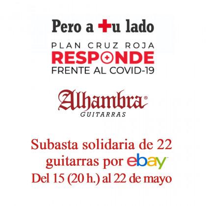 """Guitarras Alhambra se suma a la acción """"Cruz Roja Responde"""""""