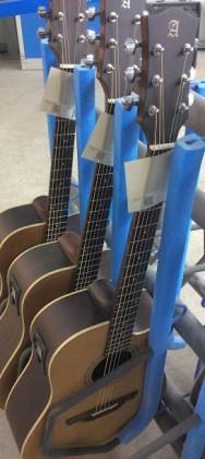 Guitarist chooses acoustic guitar