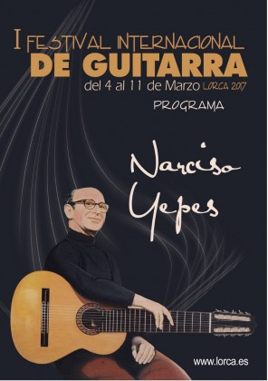 First Festival Guitarist Narciso Yepes in his hometown