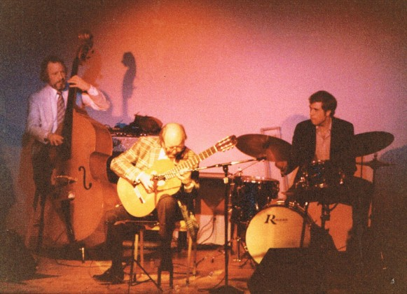 The Spanish guitar in jazz, fingerstyle