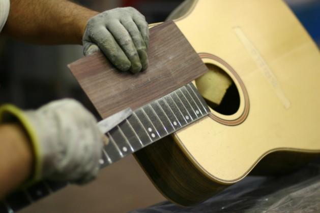 The guitarist's memory