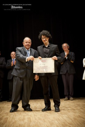 The guitarists of the XIII edition of the Alhambra Competition arrive